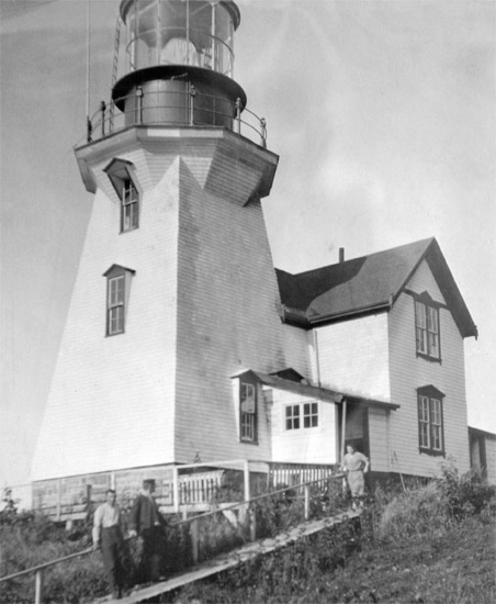 Carmanah Lighthouse, built in 1891.