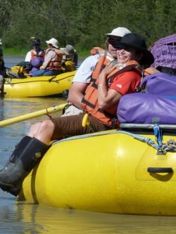 tatshenshini rafting