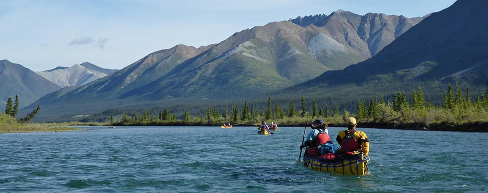 Wind River Guided Canoeing Yukon