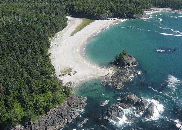 Nootka Island Sand beach