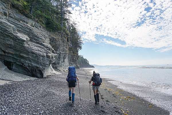 Hiking Coast/Nootka island
